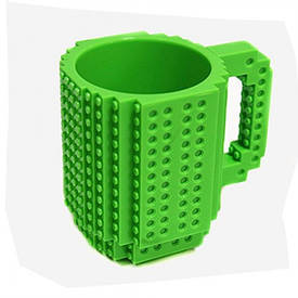 Кружка конструктор (зеленая)