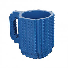 Кружка конструктор (синяя)