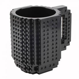 Чашка конструктор (черная)
