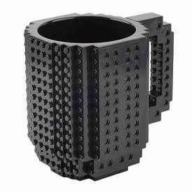 Кружка конструктор (чорна)