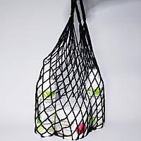 Авоська сумка-сітка чорна