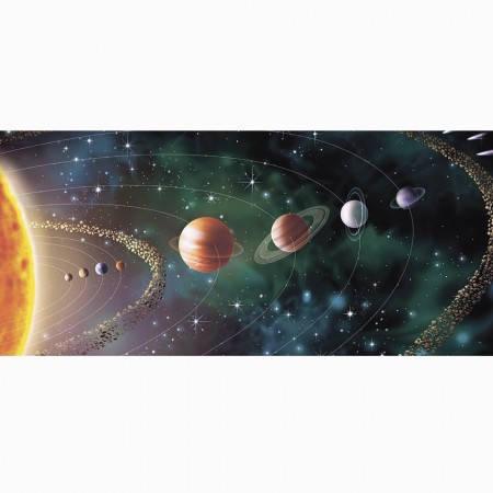 Кружка хамелеон с принтом 66155 Парад планет, фото 2