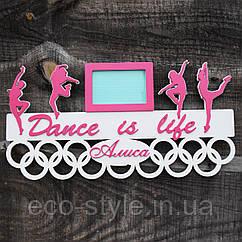 Медальница для танцев. Холдер для медалей танцы. Медальница балет