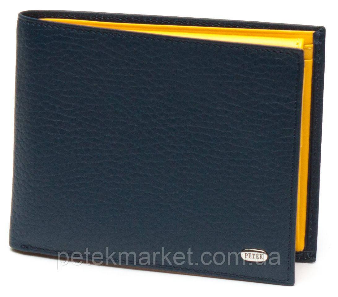 Кожаное мужское портмоне Petek 203-46BD-A17