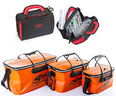 Рыболовные сумки и ящики