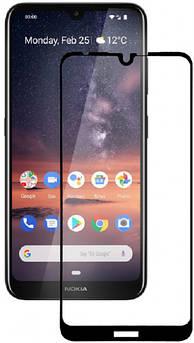 Захисне скло для Nokia 3.2 (Нокія 3.2) на весь екран (чорне)