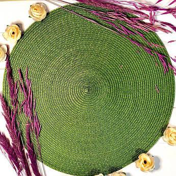 Зелений подтарельник 37.5 см
