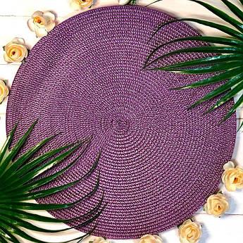 Фіолетовий подтарельник 37.5 см