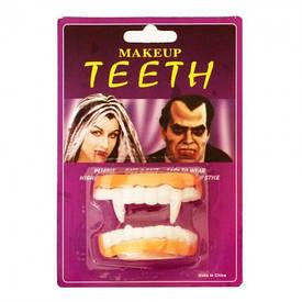 Зуби Вампіра подвійні гумові