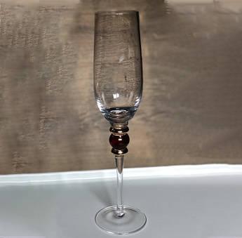 Келихи для шампанського 250мл Спрей 4шт