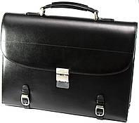 Кожаный портфель Petek 813
