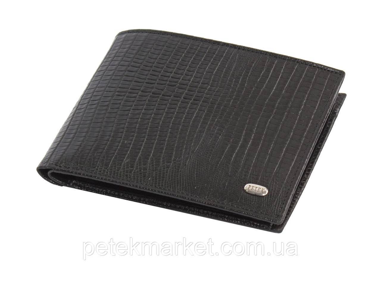 Кожаный мужской кошелек Petek 112-041-01