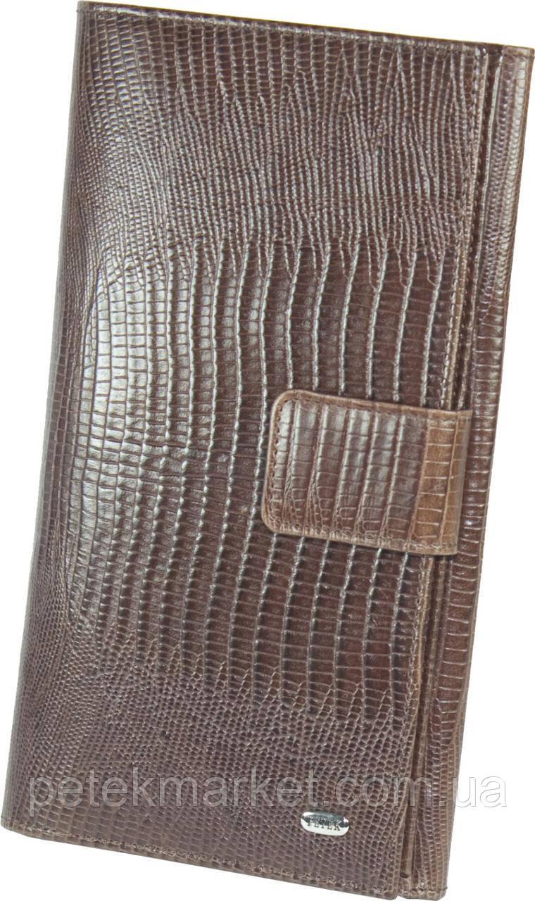 Кожаный женский кошелек Petek 364