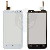 Сенсорный экран (touchscreen) для Lenovo P770, оригинал (белый)