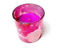 Свеча в стекле ароматическая Магнолия