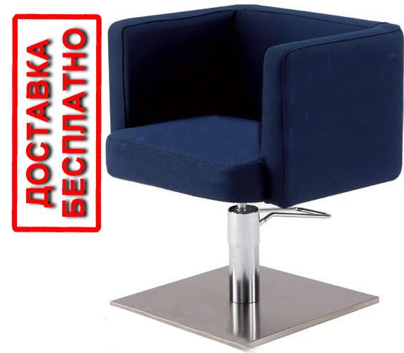 Перукарське крісло для салону краси м'які підлокітники форма крісла квадрат мод RomaVM
