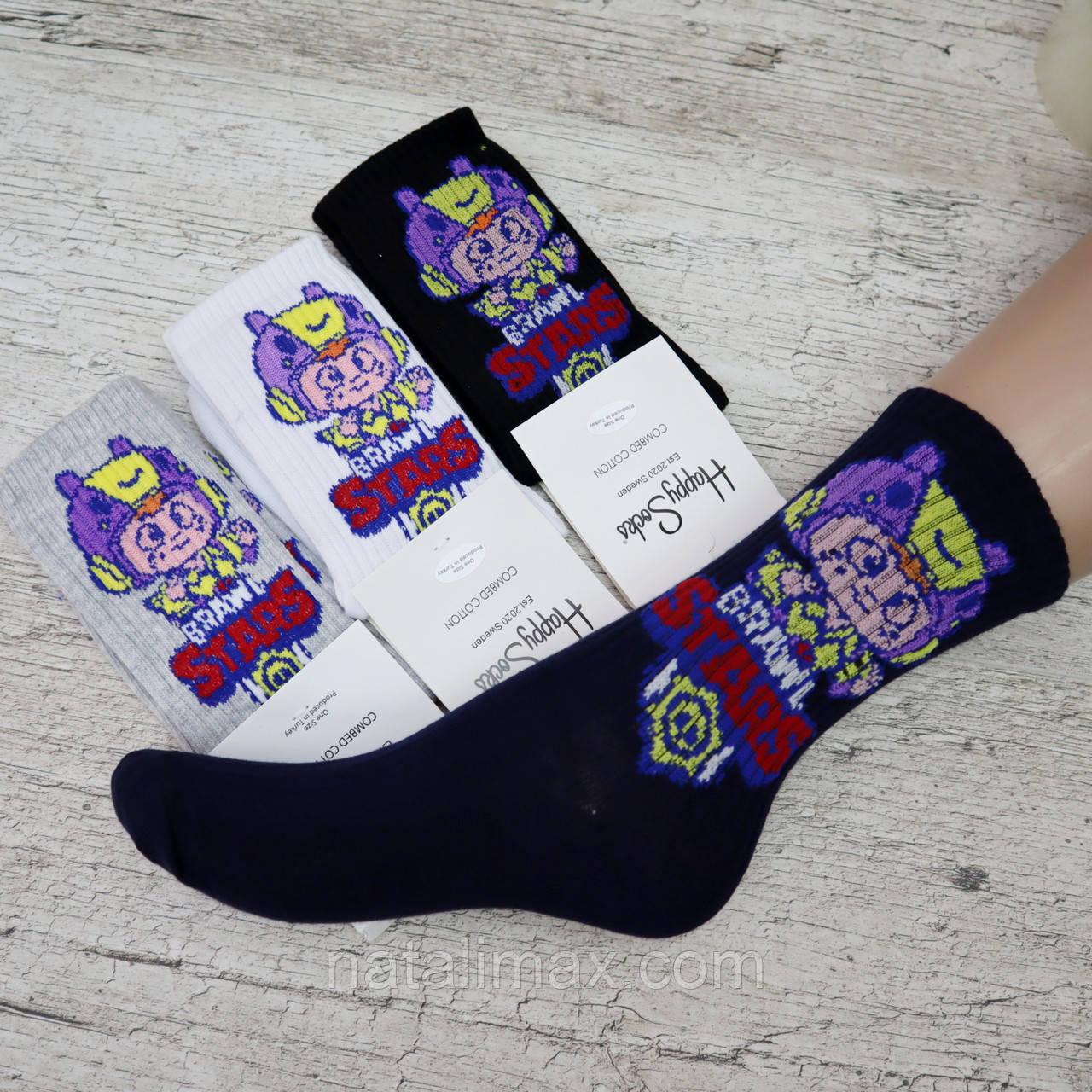 """Носки для мальчика """"Brawl Stars"""", размер 7 лет. Носки для мальчика, Турция"""