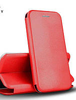 Чехол книжка для Xiaomi Redmi 9 (Red) + Стекло !!!