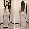 Ангоровое макси платье (разные цвета), фото 3