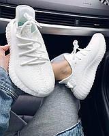 Женские белые кроссовки ADIDAS YEEZY BOOST 350