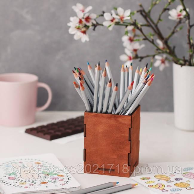 Подставка для карандашей (дерево)