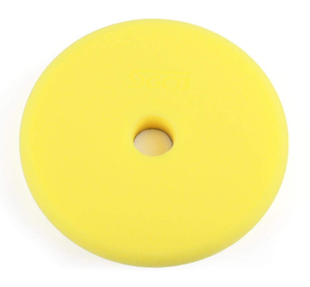 SGCB SGGA097 RO/DA Foam Pad Yellow - полировальный круг антиголограммный, желтый 150/160x30 мм