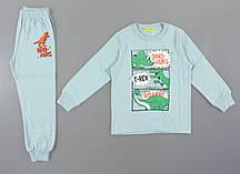 {есть:5 лет 110 СМ} Пижама для мальчиков Setty Koop, Артикул: PJM096-бледно-васильковый [5 лет 110 СМ]