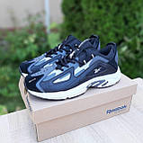 Чоловічі кросівки в стилі Reebok DMX сірі, фото 3
