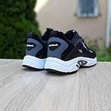 Чоловічі кросівки в стилі Reebok DMX сірі, фото 10