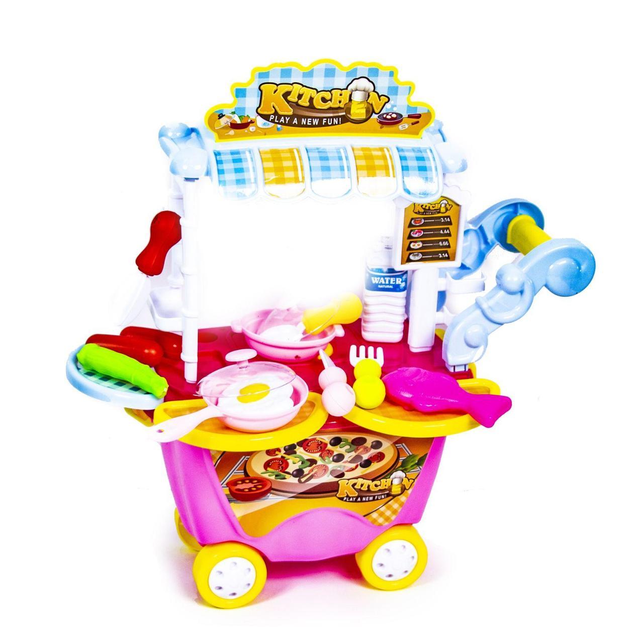Детская тележка-кухня 922-92