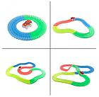 Детский светящийся гибкий трек Magic Tracks 220 деталей | Детский гоночный трек, фото 3