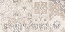 30х60 Керамическая плитка стена Doha Patchwork Доха бежевый пэчворк №2