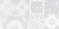 30х60 Керамічна плитка стіна Doha Patchwork Доха сірий печворк №1, фото 1