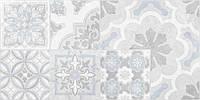 30х60 Керамічна плитка стіна Doha Patchwork Доха сірий печворк №2, фото 1