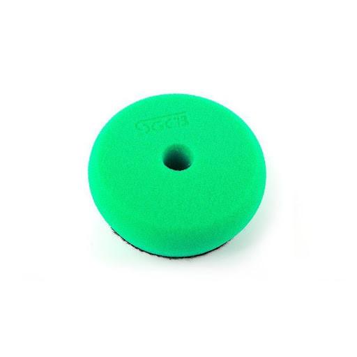 SGCB SGGA105 RO/DA Foam Pad Green - полировальный зеленый круг, (твердый) 130/140x30 мм
