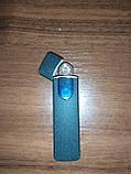 Usb зажигалка спиральная lighter fire, сенсорная черная, фото 7