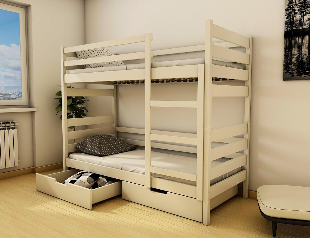 Деревянная детская кровать Амели ТМ Луна