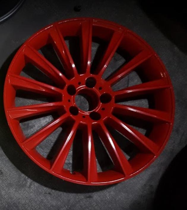 Покраска дисков R20