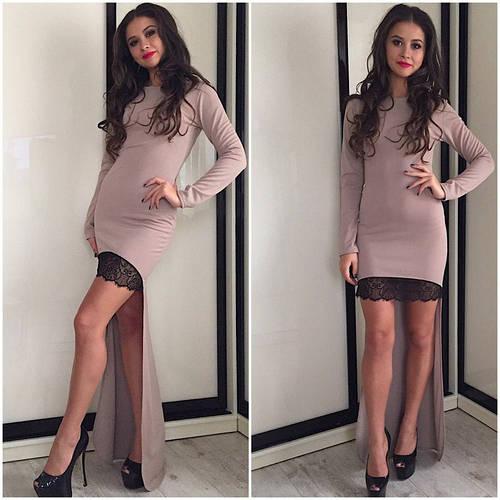 Платье со шлейфом (разные цвета)