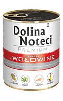 Dolina Noteci Premium 800г консерва для собак с говядиной, овощами и рисом