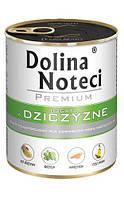 Dolina Noteci Premium 800г консерва для собак с дичью, овощами и рисом
