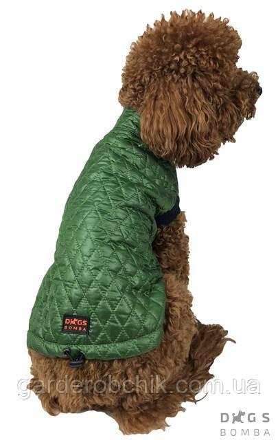 Жилет стеганный, куртка для собаки G-29. Одежда для собак