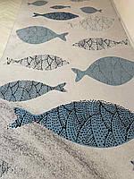 Ковер для детской Рыбки 2.3х1.6 м