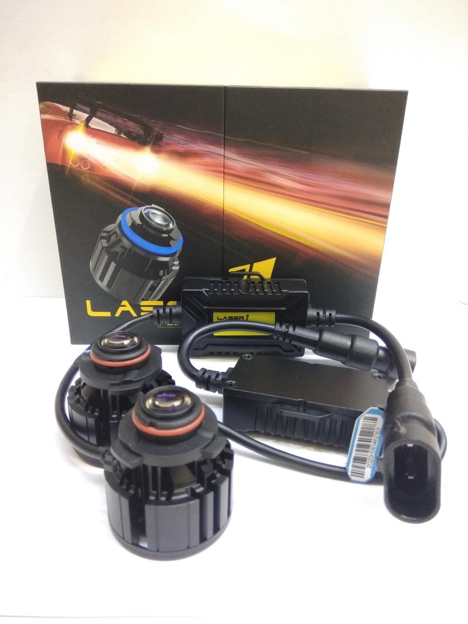 Автолампи лазерні Противотуманки Дальнє світло Laser1 HB3 9005 4800Lux 6000K 12В