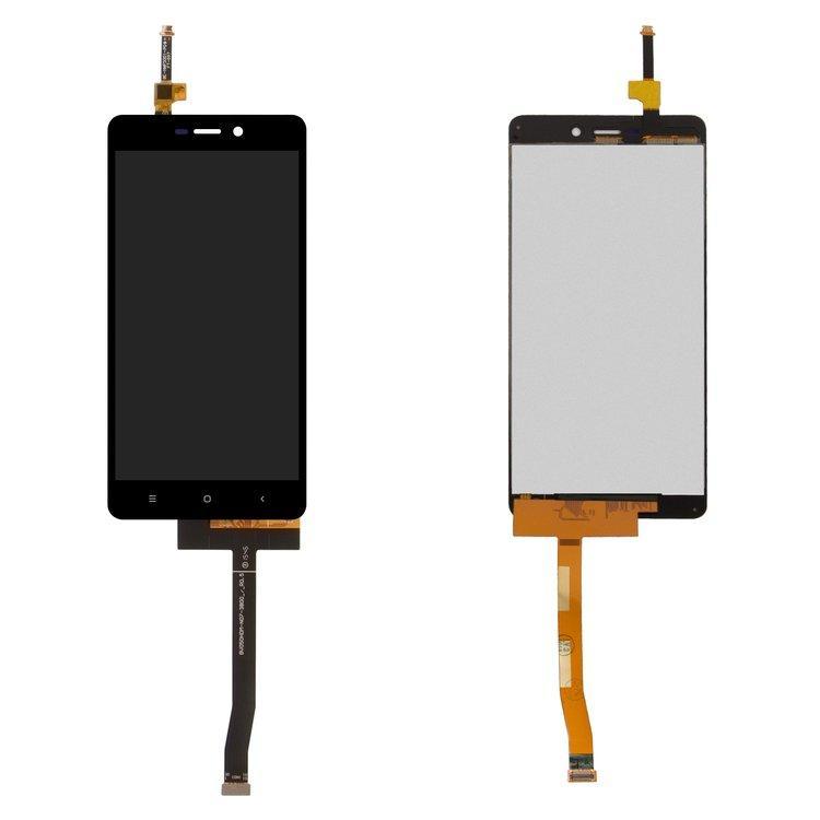 Дисплей (экран) для Xiaomi Redmi 3x с сенсором (тачскрином) черный