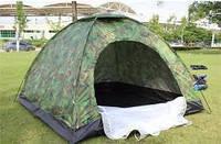 Палатка туристическая 4-х местная   намет туристичний  Auto 2,00*2,00
