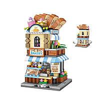 Конструктор LOZ Street Мини блоки Пекарня 397 деталей (1646)