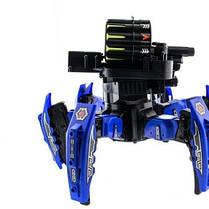 Робот-паук Keye Space Warrior на радиоуправлении ракеты, диски, лазер, синий SKL17-139945, фото 2