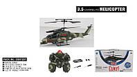 Радиоуправляемый вертолет BF-122-2D воен.с гироскопом,аккум.метал.свет.кор.31*9*13