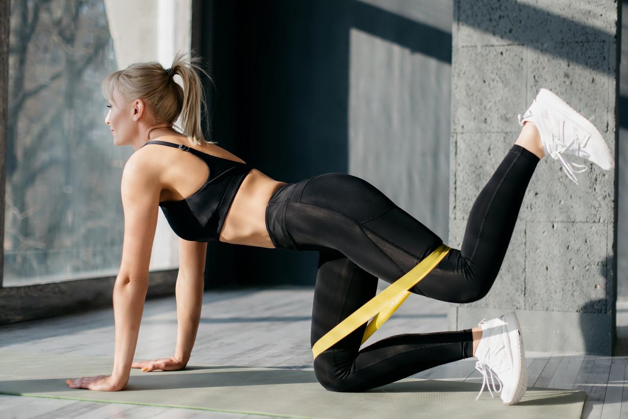 Распродажа! Фитнес резинка Raciness, в наборе 3 цвета (черный, желтый, синий) спортивная, для тренировок